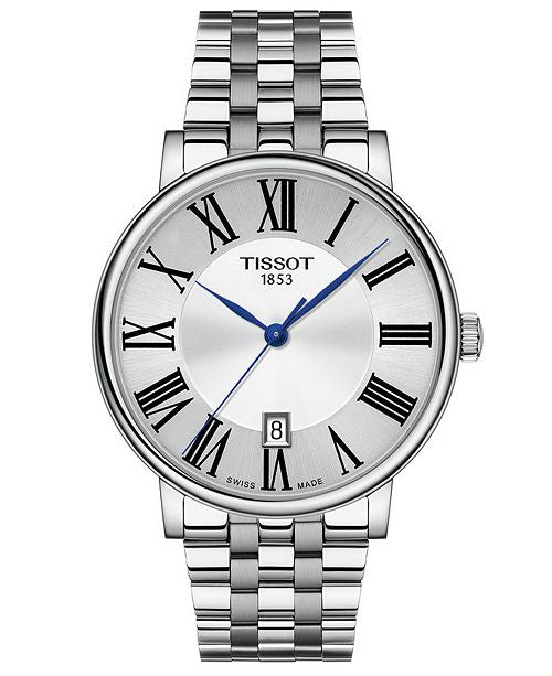 Tissot Stainless Steel Carson Watch