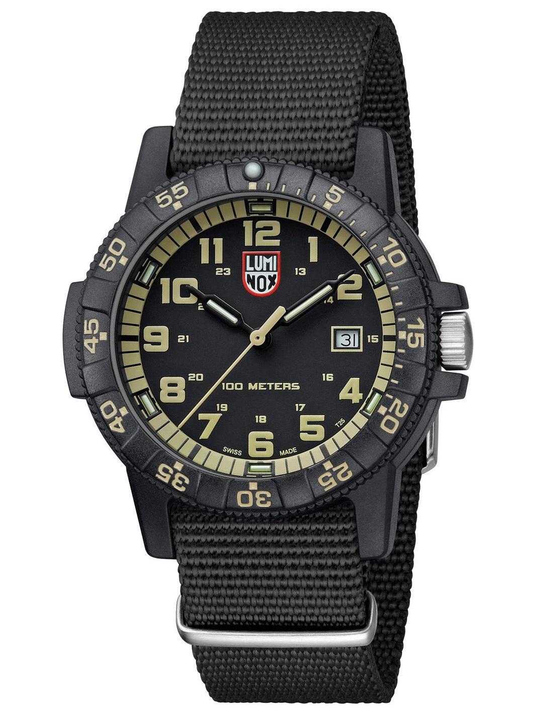 Luminox Leatherback Sea Turtle Giant  Black/Green