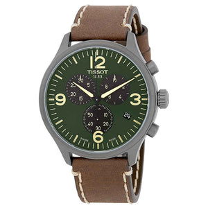 Tissot Chrono XL Green Dial Watch