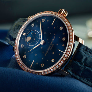 Frederique Constant Moonphase Rose with Diamonds