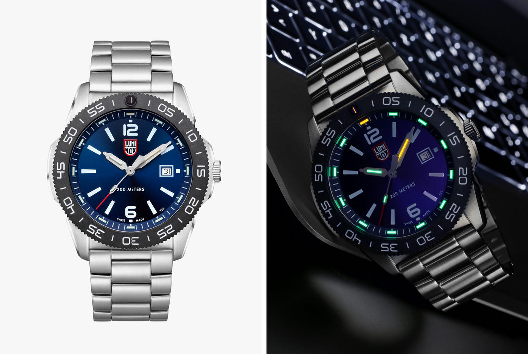 Luminox Pacific Diver Stainless Steel with Blue Dial