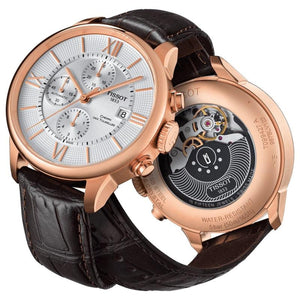 Tissot Rose' Chronograph Chemin des Tour Watch