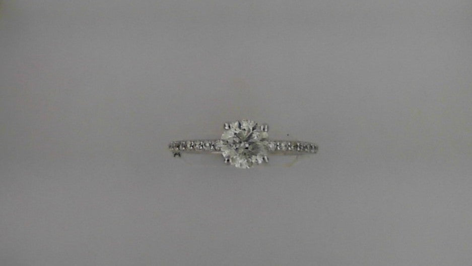 Lady's 14K White Gold Diamond Engagement Ring