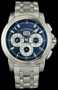Carl F. Bucherer Patravi Chronodate Blue Dial Watch