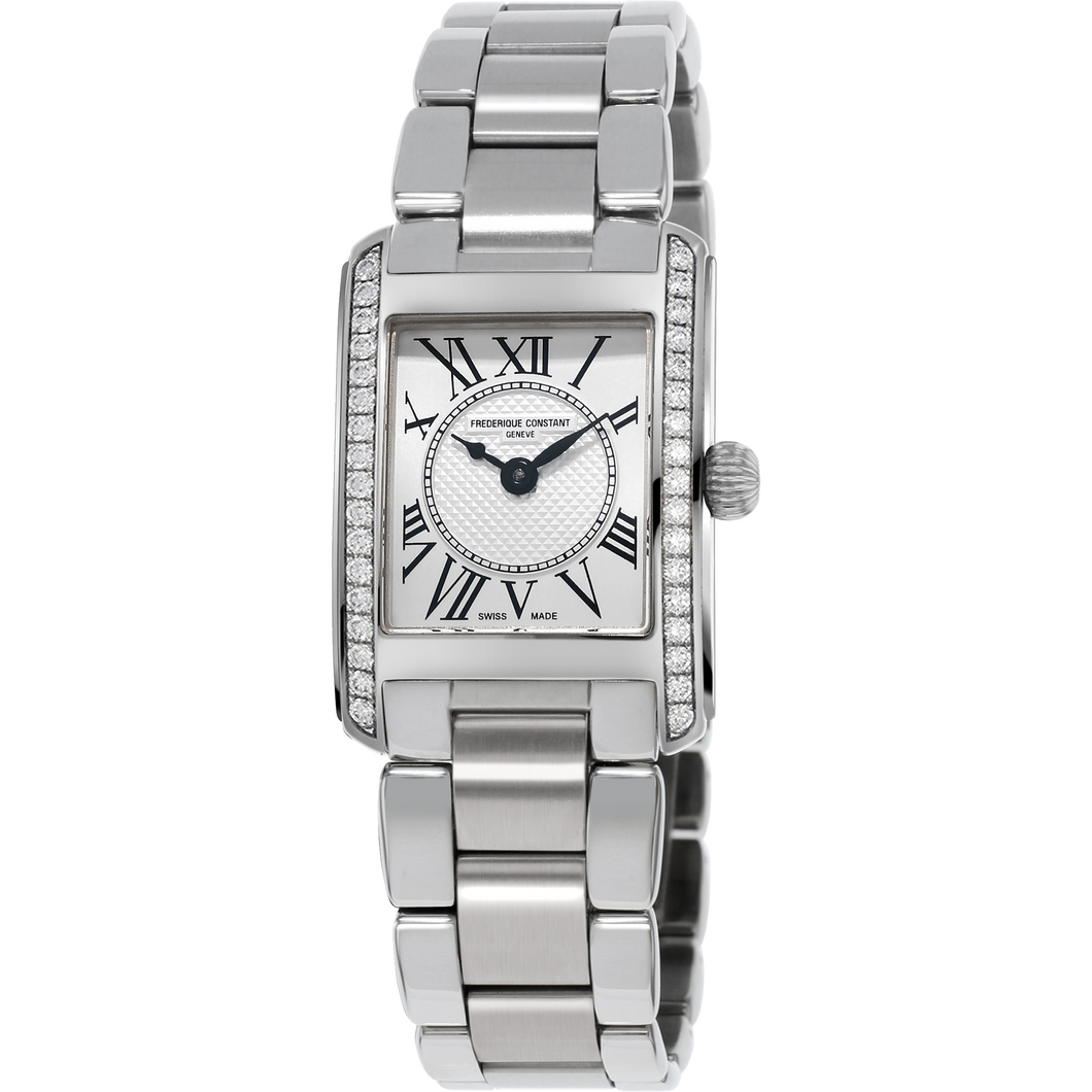 Frederique Constant Carree watch with Diamonds