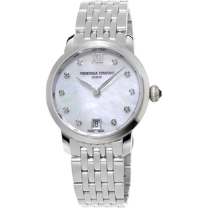 Frederique Constant watch Mother of Pearl with Diamonds