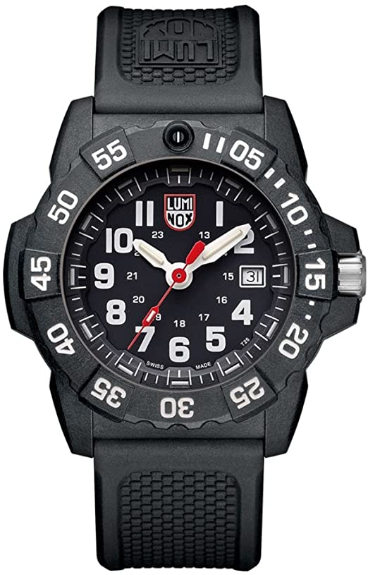 Luminox Divers Navy Seal with Black Dial/White numbers Watch