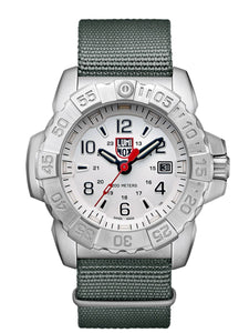 Luminox Stainless Steel Divers Silver Watch
