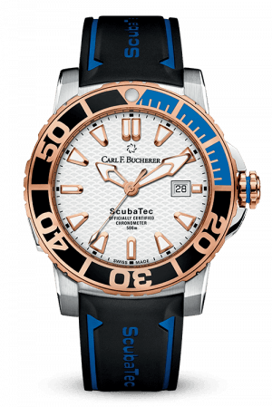 Carl F. Bucherer Rose 18k Patravi ScubaTec Watch
