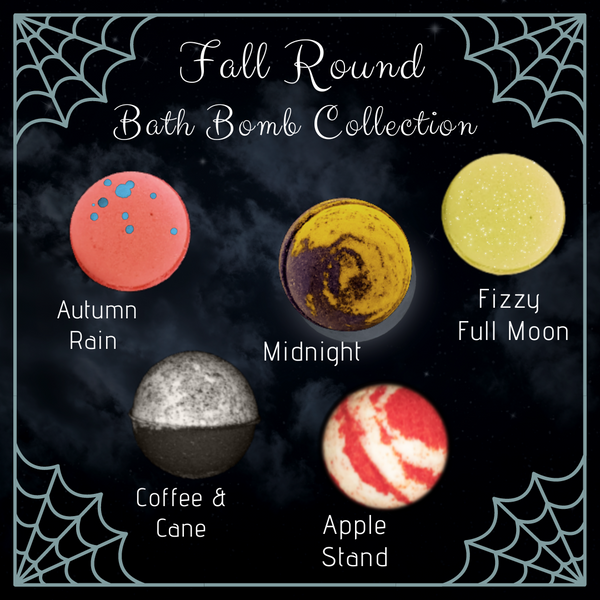 Fall Round Bath Bombs