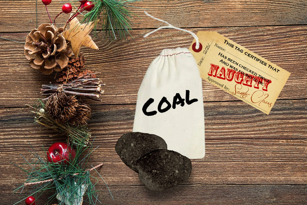 Naughty List Bath Bomb Coal
