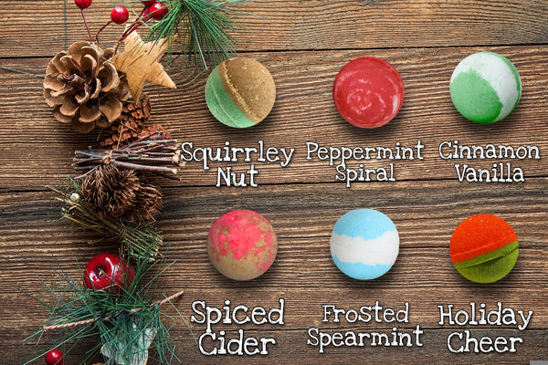 Winter Round Bath Bombs
