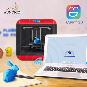 3D Printer Auto Leveling Removable Platform Single Extruder with/1 spool PLA filament