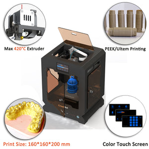 2017 Creatbot 3d printer 3d Mini 3D printer for jewelry 3D Printer, Printing Machine F160-62