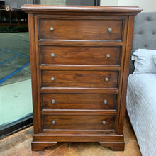 Load image into Gallery viewer, Bramble Huntley Tall 5 Drawer Dresser 26144TKB