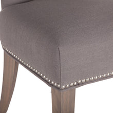 Load image into Gallery viewer, Rebecca Dining Chair - Warm Gray