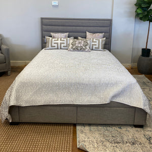 Upholstered Queen Storage Bed