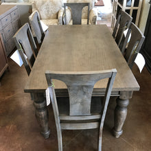 "Load image into Gallery viewer, Colonial Plantation 68"" Dining Table - Weathered Teak"