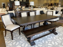 Load image into Gallery viewer, Bramble 7' Trestle Dining Table Set 25964WLT