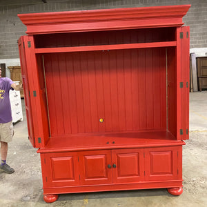 Palladian Plasma TV Cabinet 25439RED