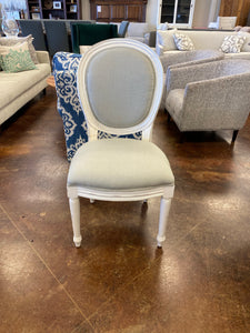 Bramble Tulip Dining Chair w/o Fluted Leg 25938WHD-LN81