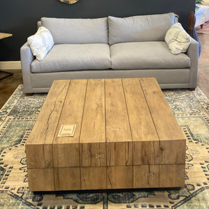 "40"" Square Coffee Table"