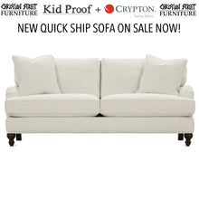"Load image into Gallery viewer, Brooke 78"" Two Cushion Sofa"