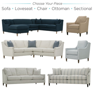 "Rowe 84"" Studio Sofa"