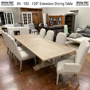 "120"" Extension Dining Table"