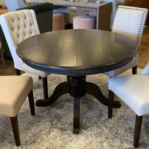Bramble 4' Round Farmhouse Dining Table 10889WLT