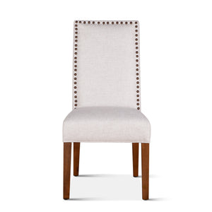 Jones Dining Chair with Natural Teak Legs