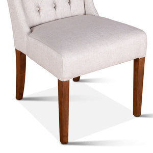 Lara Dining Chair with Natural Teak Legs