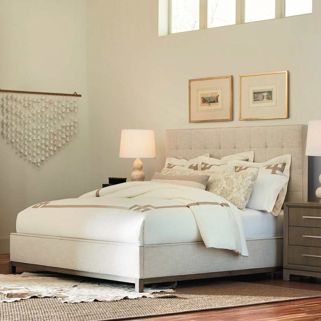 High Line Upholstered Queen Bed 6000-4705K