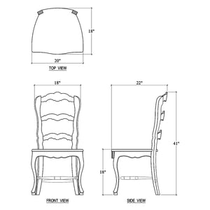Bramble Provincial Dining Chair 23967TKB