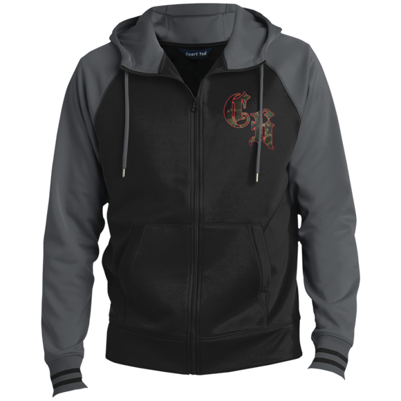 ST236 Men's Sport-Wick® Full-Zip Hooded Jacket