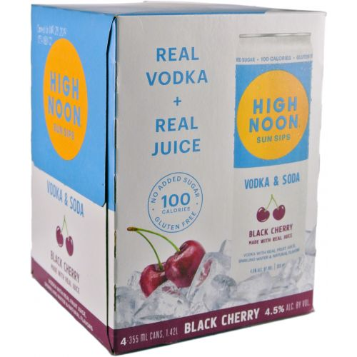 HIGH NOON BLKCHRY 4-PACK 355ml