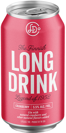 LONG DRINK CRANBRRY 355mL