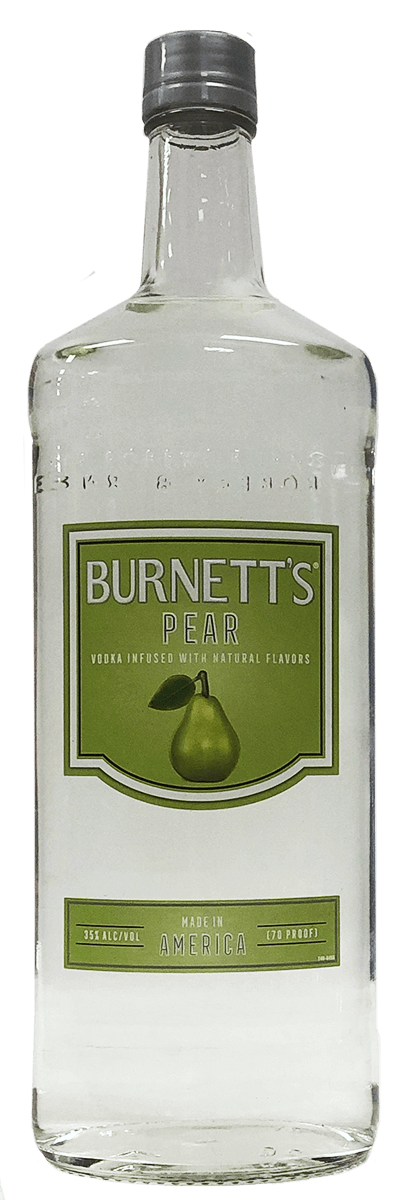 BURNETTS VODKA PEAR 1L