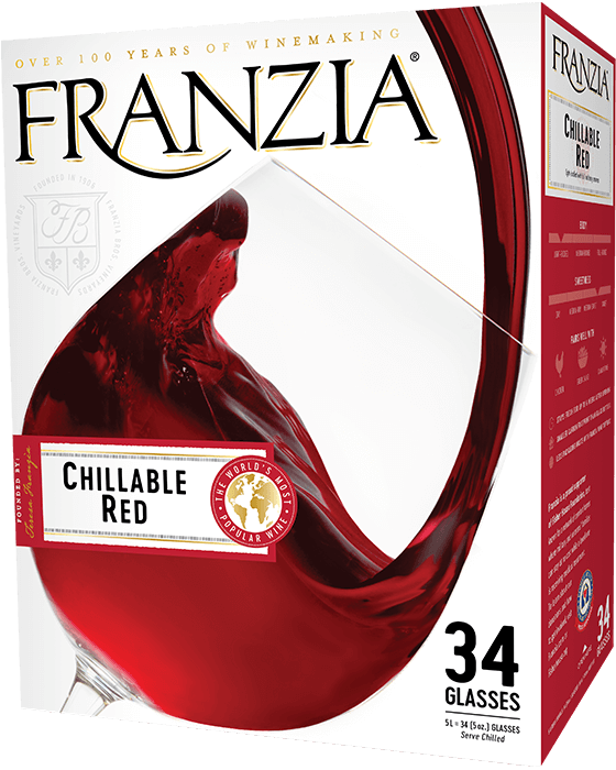 FRANZIA CHILL RED 3L