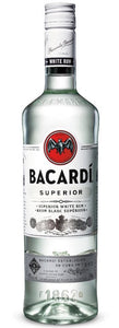 BACARDI WHITE 750ML