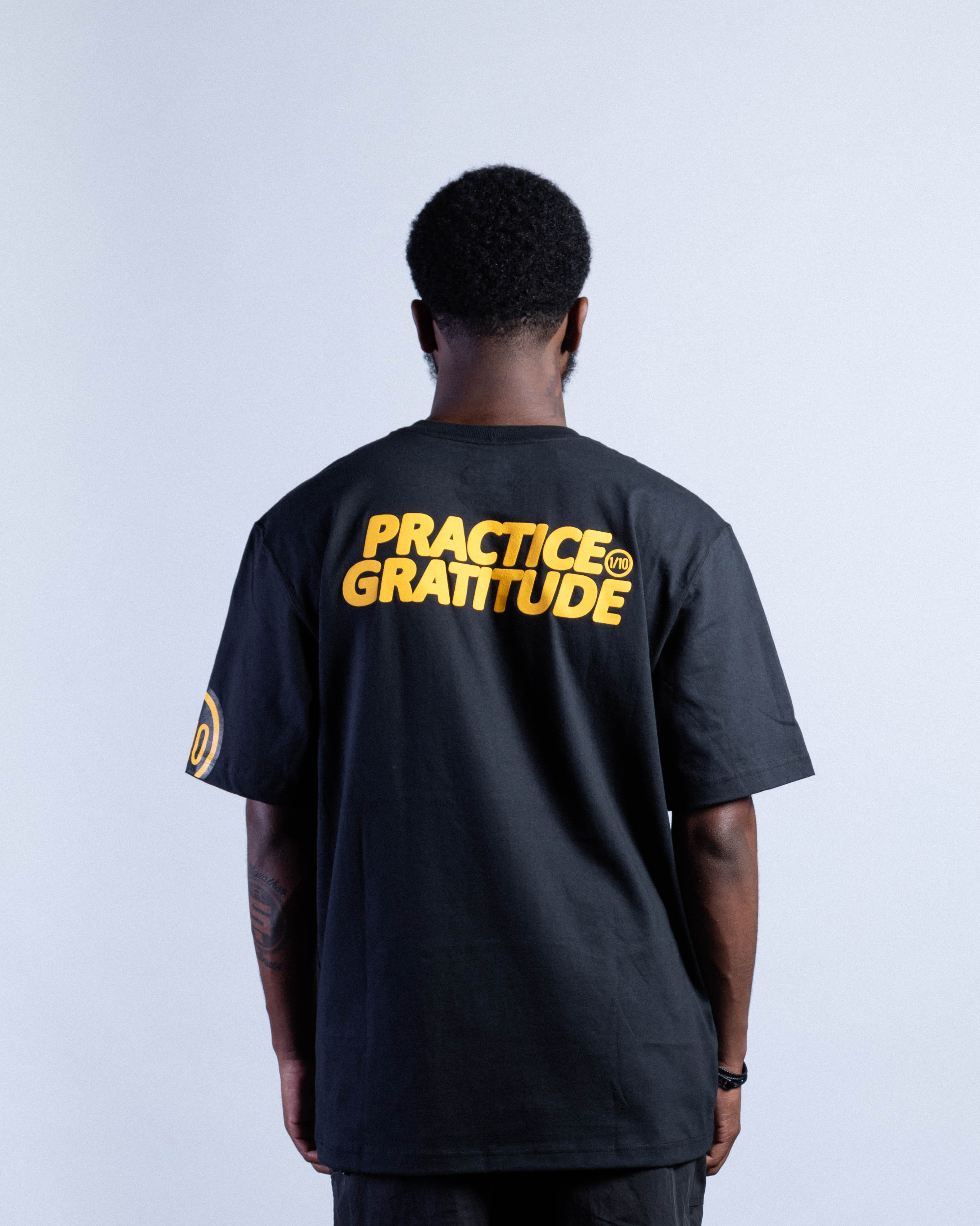 Practice Gratitude Tee (THESE SHIRTS FIT BIG, A MORE ROOMY FIT)