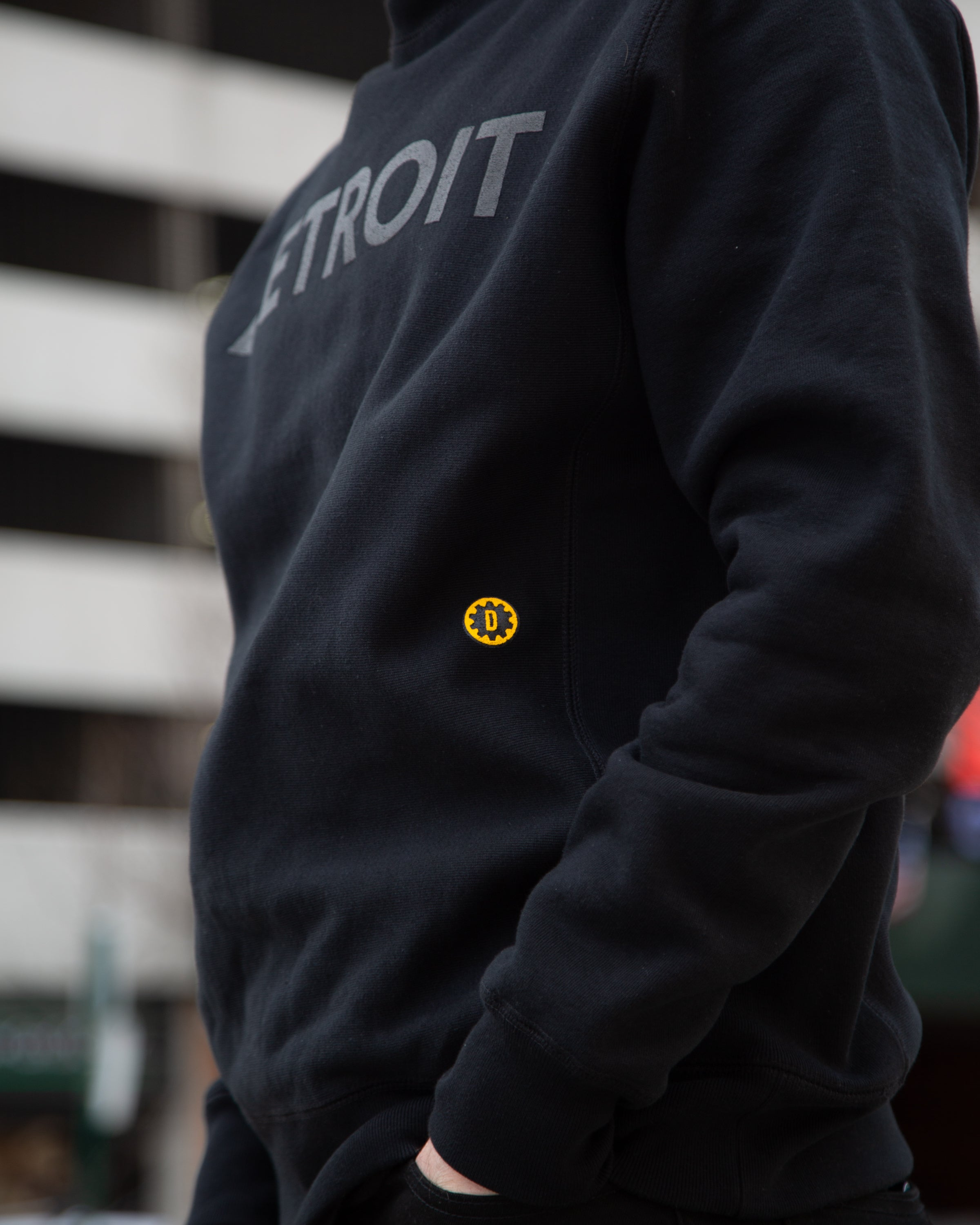 DL CITY CREWNECK (DETROIT)