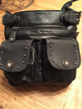 Crossbody Gun Concealment Purse with Bullet Accents