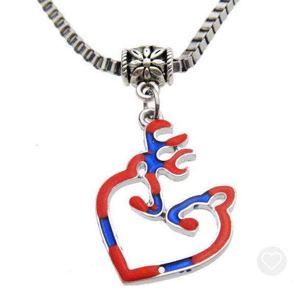 deer rebel flag necklace all things country