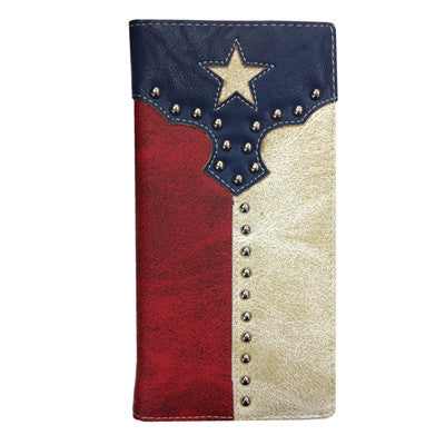 Mens Texas Flag Wallet