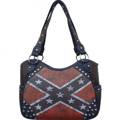 *Vintage Rebel Flag Purse