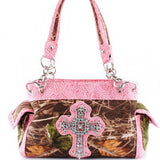 Camo Cross Handbag