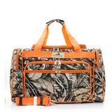 Natural Camo Duffel Bag