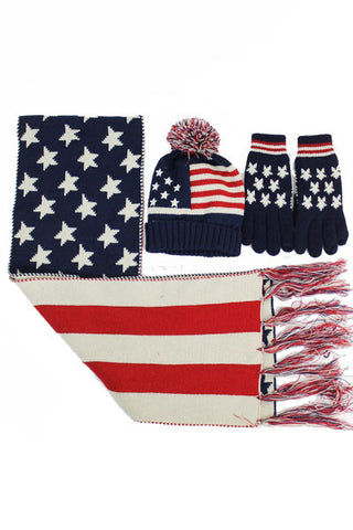 American Pride Winter Warm Set