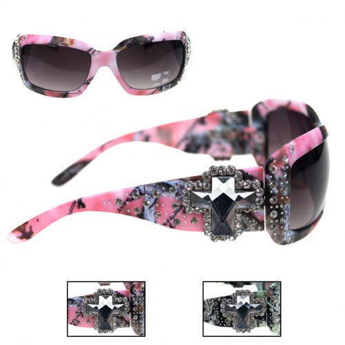 Camo Montana West Sunglasses